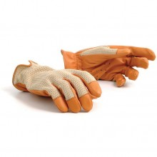 Grand Prix Driving Gloves - Brown