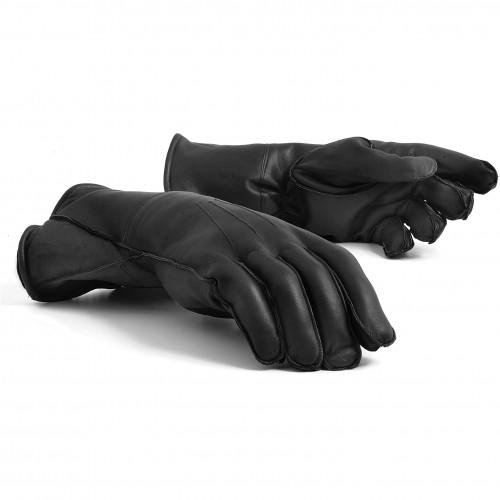 Leather Gauntlets (Black) image #1