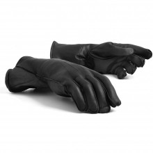 Leather Gauntlets (Black)