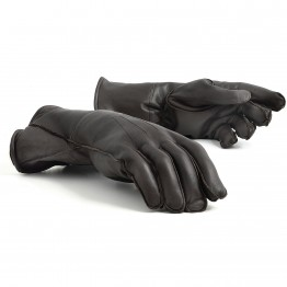 Leather Gauntlets (Brown)