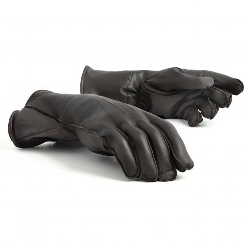 Leather Gauntlets (Brown) image #1