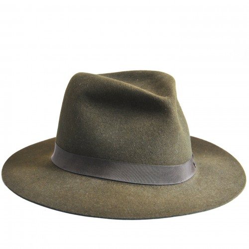 Fedora Hat - Green image #1