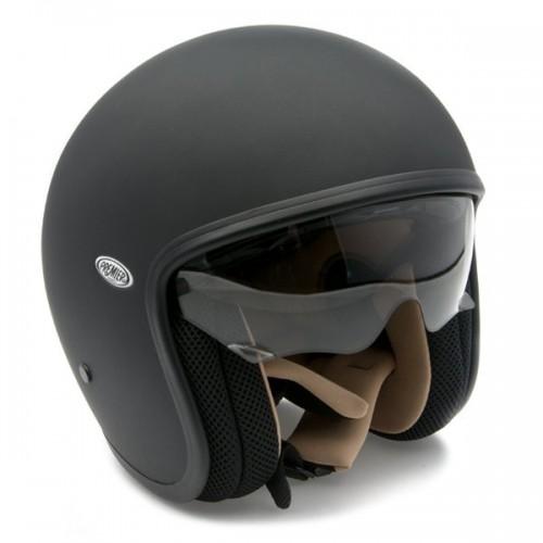 Premier Vintage Helmet Matt Black image #1