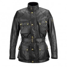Belstaff Classic Tourist Trophy Waxed Jacket-Black-Mens