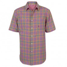 Rian Reversible Men's Shirt by Jack Murphy - Check & Red