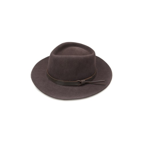 Boston Jack Felt Hat by Jack Murphy - Brown image #1