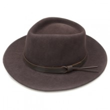 Boston Jack Felt Hat by Jack Murphy - Brown