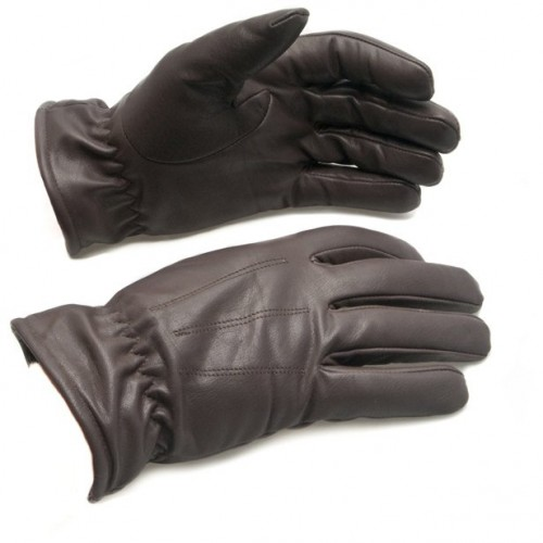 Winter Driving Gloves - Brown image #1