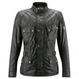 Belstaff Crosby Waxed Jacket - Mens - Black