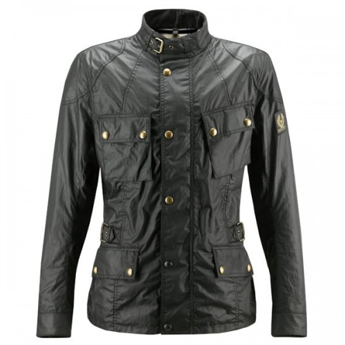 Belstaff Crosby Waxed Jacket - Mens - Black image #1