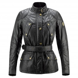 Belstaff Hairpin Waxed Jacket - Ladies - Black