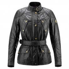 Belstaff Hairpin Waxed Jacket - Ladies - Black