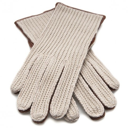 Dents Ladies Driving Gloves - Cognac image #1