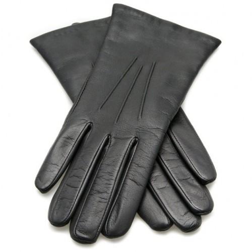 Dents Ladies Leather Gloves - Black image #1
