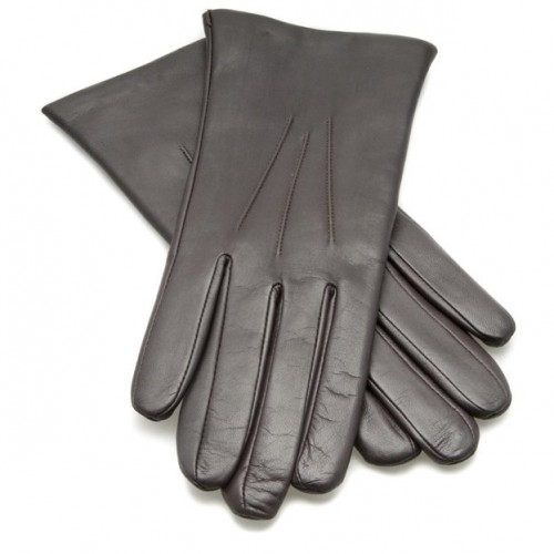 Dents Ladies Leather Gloves - Mocca image #1
