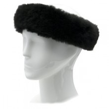 Alpaca Fur Halo - Black