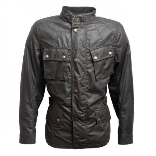 Belstaff Crosby Waxed Jacket - Mens - Brown image #1