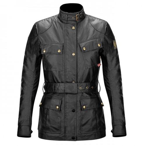 Belstaff Tourist Trophy Waxed Jacket - Ladies - Black image #1