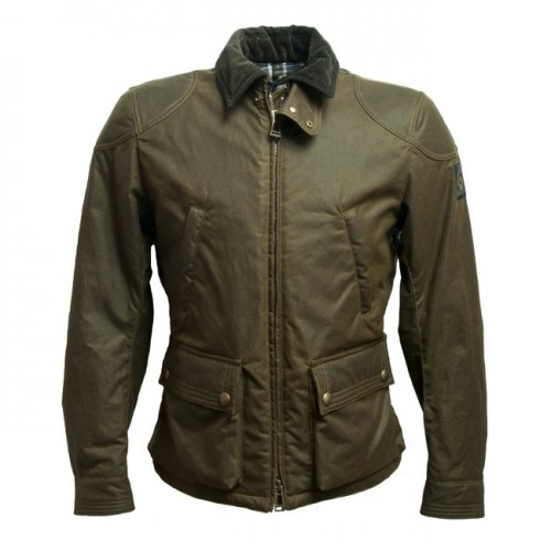 Belstaff Keppel Gate Waxed Jacket - Mens - Woodland image #1