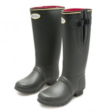 Neoprene Sligo Wellingtons by Jack Murphy - Olive