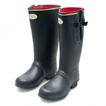 Neoprene Sligo Wellingtons by Jack Murphy - Navy