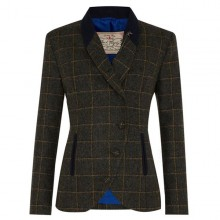 Beth Ladies' Tweed Jacket by Jack Murphy - Country Green