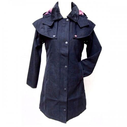Grainne Ladies Coat by Jack Murphy - Heritage Navy image #1