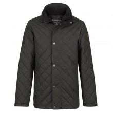 Dara Olive Quilted Wax Jacket By Jack Murphy