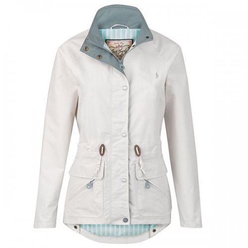Valda Ladies Waterproof Jacket by Jack Murphy - Seaside Sand image #1