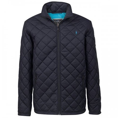 Daryl Quilted Jacket by Jack Murphy - Heritage Navy image #1