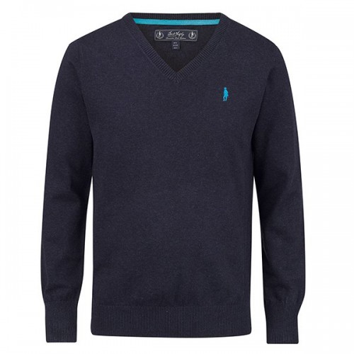 Victor Sweater Navy by Jack Murphy image #1