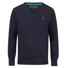 Victor Sweater Navy by Jack Murphy