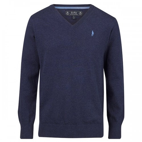 Victor Sweater Dark Blue by Jack Murphy image #1