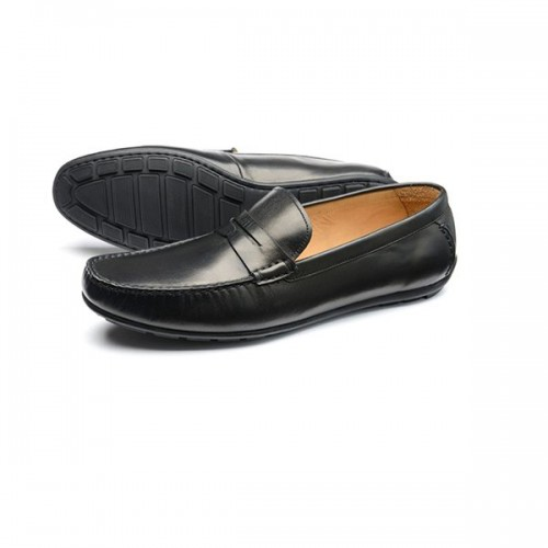 Loake Shoes - Goodwood Black Calf image #1