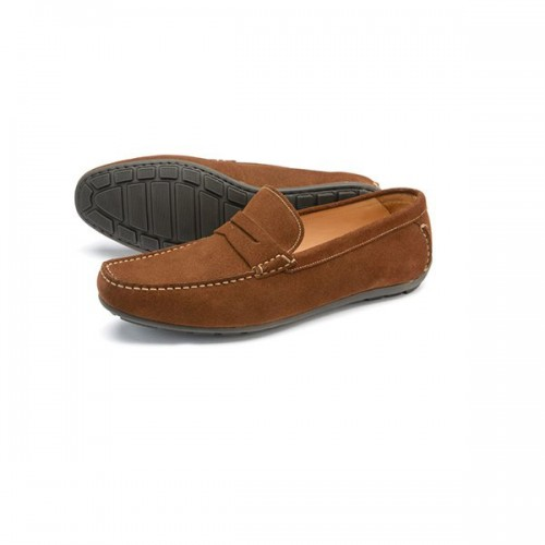 Loake Shoes - Goodwood Brown Suede image #1