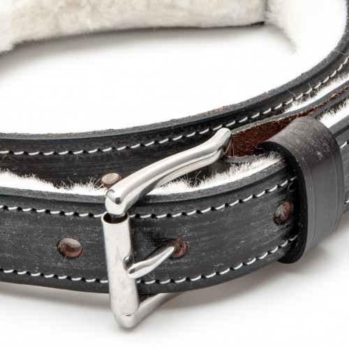 Austin Healey Bonnet Strap Linned - Brown with Chrome Buckle image #1