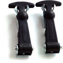 Bonnet Hooks - Large Rubber