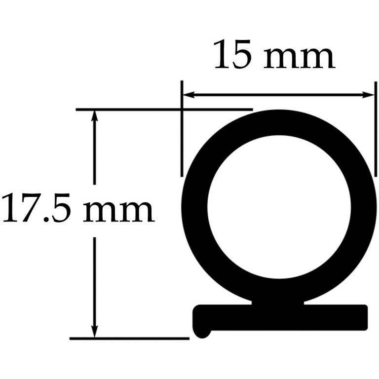 adhesive sponge seal for vintage and classic cars
