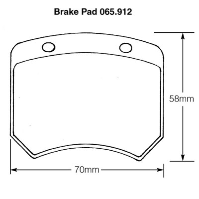 Mini Cooper S and Mini 1275GT Brake Pads