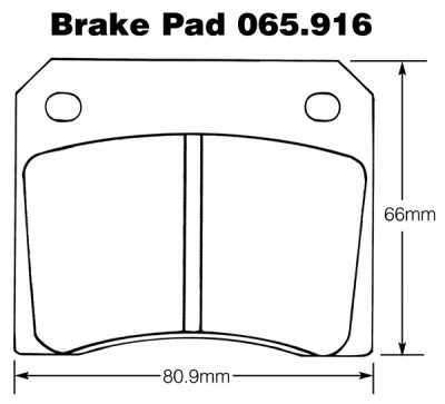 Jaguar, Jensen, TVR's and AC Brake Pads (Mintex)