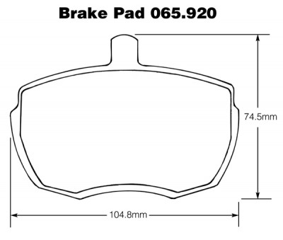Mini Cooper S Brake Pads (Mintex)