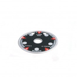 Indicator Dial for 3 1/2 in Andre Hartford Shock Absorbers