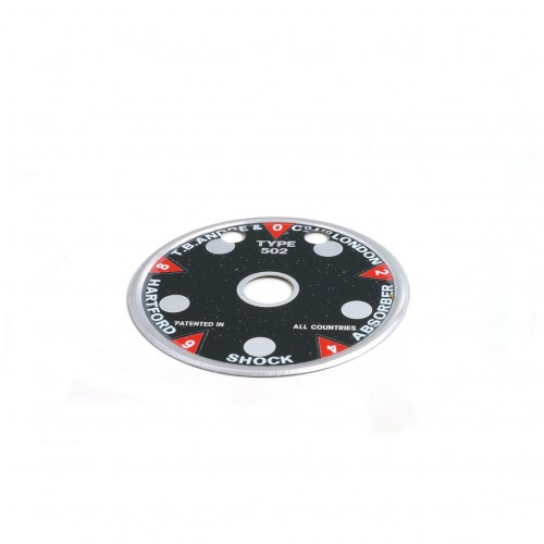 Indicator Dial for 4 1/2 in Andre Hartford Shock Absorbers image #1