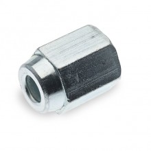 Steel 3/8 UNF Pipe Nut (Female) for 3/16 in Pipe