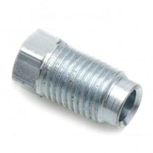 Steel 7/16 in UNF Pipe Nut (Male) for 1/4 in Pipe