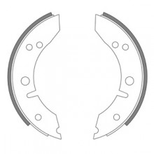 Morris Minor 1957-62 Front Brake Shoes