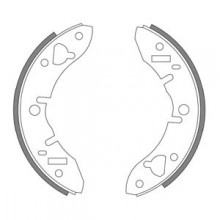 Mini 1964-1984 Front Brake Shoes