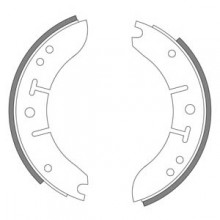 Morris Minor 1962-1971 Front Brake Shoes