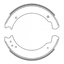 Land Rover 88 Brake Shoes 10 in diameter