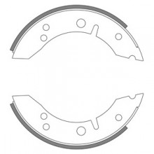 Austin Healey Sprite/MG Midget (Early) Rear Brake Shoes
